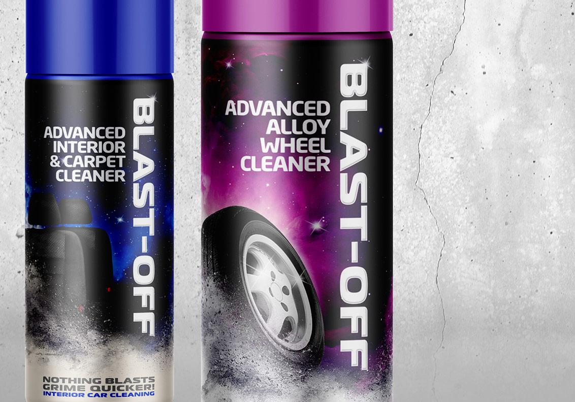 Blast Off New Packaging Design portfolio image