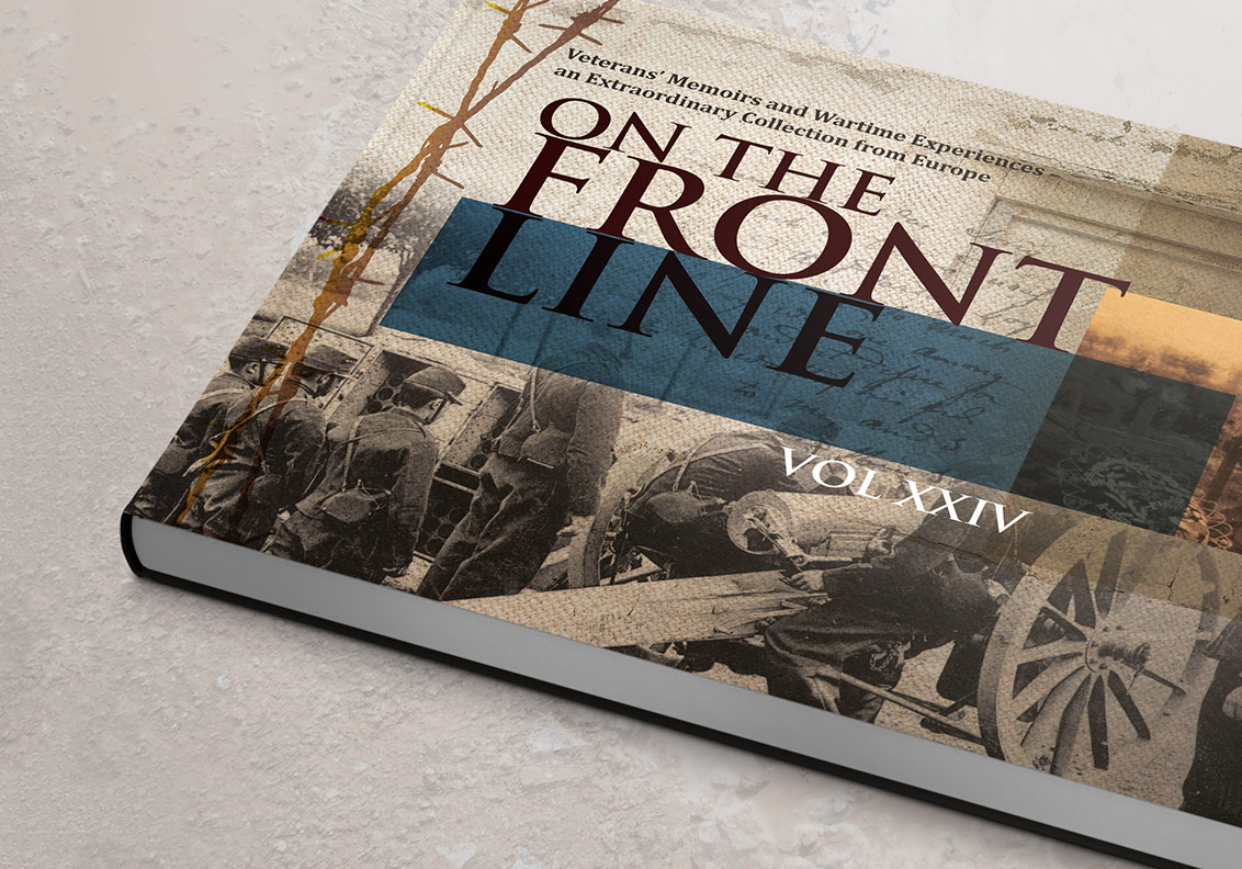 Front Line Design of Books portfolio image
