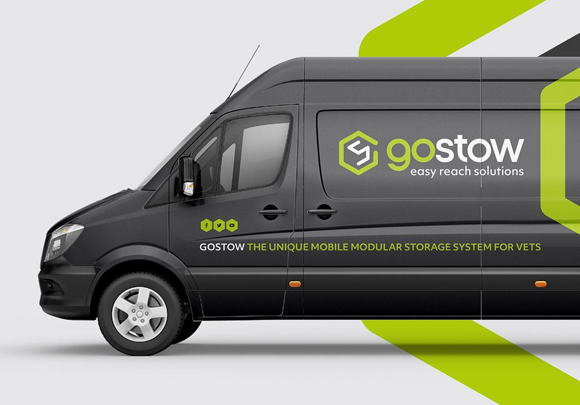 Gostow Branding, Website and Literature portfolio image