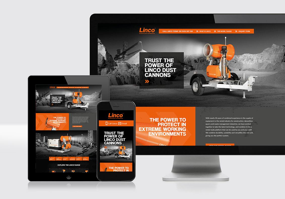 Linco Marketing for company launch portfolio image
