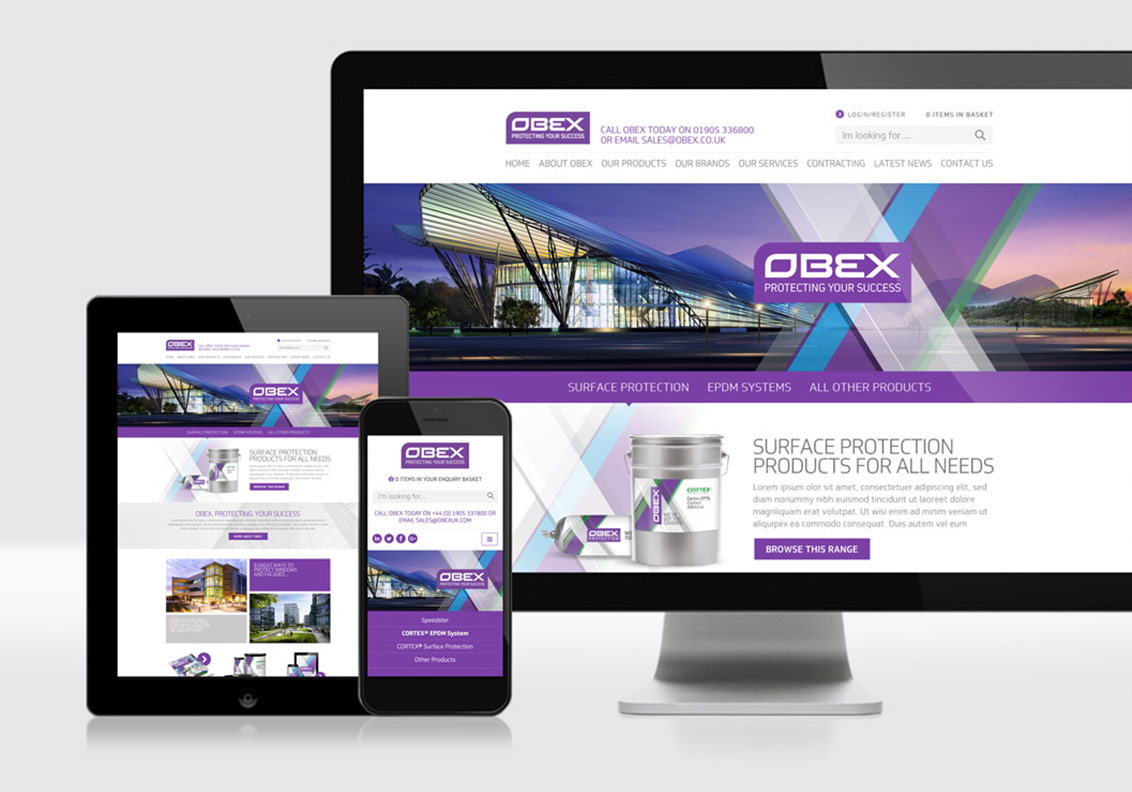 Obex Full Marketing Support portfolio image